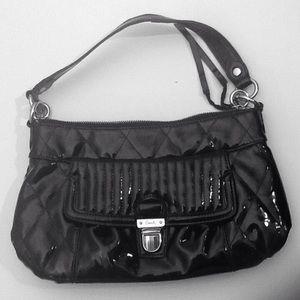 Coach Poppy Liquid Gloss Patent Leather Hand Bag